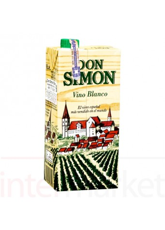 Vynas DON SIMON Vino Blanco 1,0L