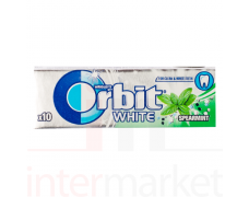 Kramtomoji guma ORBIT white spearmint 10vnt.
