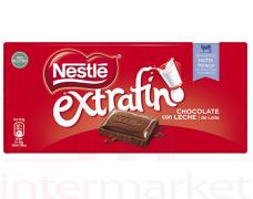 Pieninis šokoladas NESTLE EXTRAFINO, 125 g.