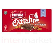 Pieninis šokoladas su migdolais NESTE EXTRAFINO, 123 g.