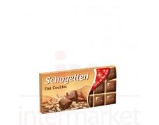 "Šokoladas ""Schogetten Oat Cookies"" su avižiniais sausainiais 100 g"