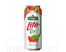 Nealkoholinis alaus kokteilis  KALNAPILIS LITE arbūzų skonio 0,5l