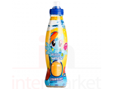 Gėrimas+siurprizas LITTLE PONY Strawberry geltonas 500ml