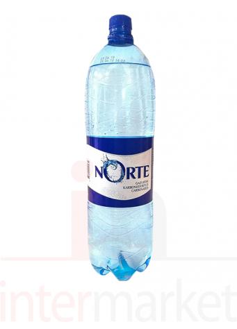Gazuotas stalo vanduo NORTE, 2 l