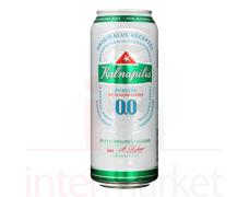 Nealkoholinis šviesusis lageras KALNAPILIO 0,5L