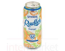 Nealkoholinis alaus kokteilis mango skonio RADLER 0,5L