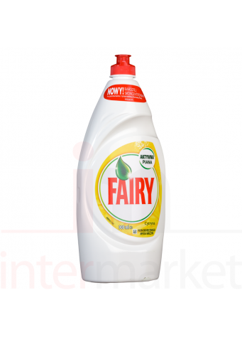 Indų ploviklis FAIRY Lemon 900ml