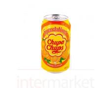 Chupa chups gazuotas apelsinų skonio gėrimas