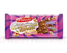 Pieninis šokoladas su  traškia karamele 100g