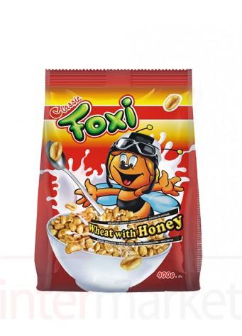 Sausi pusryčiai FOXI PREMIUM su medumi 500 g