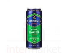 Alus GUBERNIJA Non alco Naked lager 0,5l