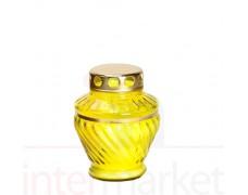 Kapų žvakė  60 val geltona