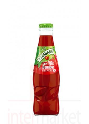 Pomidorų sultys 100% su jūros druska 200ml
