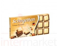 SCHOGETTEN baltas šokoladas 100g